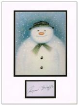 Raymond Briggs Autograph Signed - The Snowman